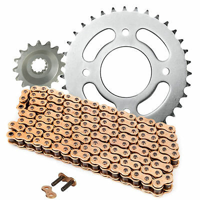 Yamaha YZF R125 Chain And Sprocket Kit Heavy Duty Gold 2008 - 2015  YZFR125