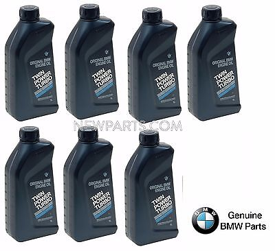 7 Liters GENUINE Twin Power Turbo 5w30 Motor Oil Set Original For BMW Engine Oil