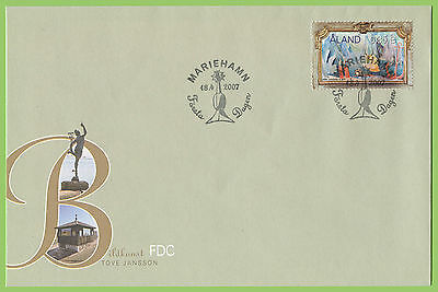 Aland 2007 Tove Janson Painting First Day Cover