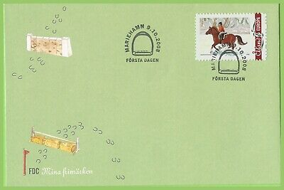 Aland 2008 Horse Rider First Day Cover