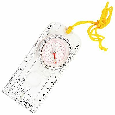 Magnifying Orienteering Camping Hiking Army Kayaking Scouts Map Reading Compass