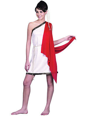 Adult Sexy Roman Greek Goddess Toga Ladies Fancy Dress Hen Party Costume Athena