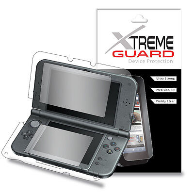 Genuine XtremeGuard FULL BODY LCD Screen Protector For Nintendo 3DS XL (2015)