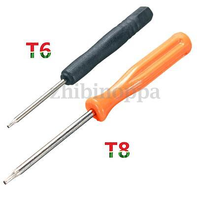 Torx T8H + T6 Security Screw Driver Open Repair Tool for Xbox ONE 360 Controller