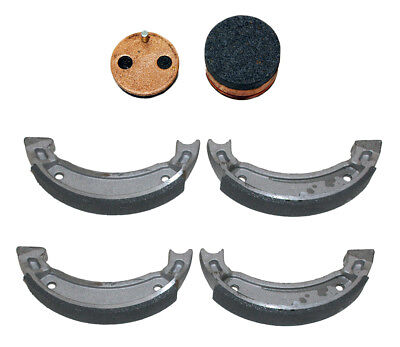 Front Brake Shoes & Rear Brake Pads 1988-2002 Yamaha Blaster 200 YFS200