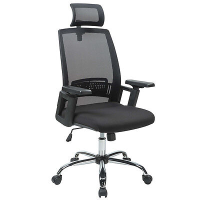 New Black Ergonomic Desk Task Office Chair High Back Executive Computer Chair