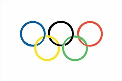 2016 Brazil Rio Olympic Flag Summer Games Sports Decoration Banner Support 5X3FT