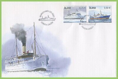 Aland 2010 Ferries set First Day Cover