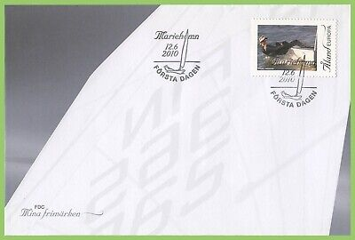 Aland 2010 Sailing First Day Cover