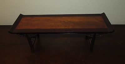 Vintage Chinese carved miniature altar table
