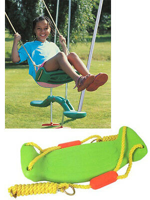 Childrens Baby Swing Seat Safe Practical Garden Outdoor Strong Rope Chair Hooks