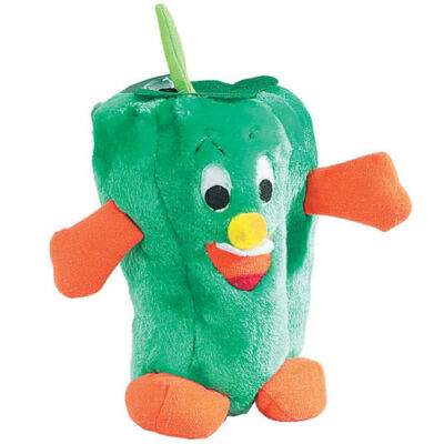 Dog Puppy Plush Toy - Zanies - Giggling Veggies - Pepper