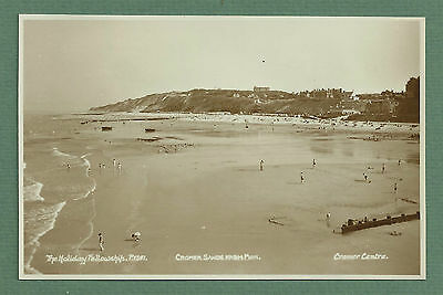 C1950'S Rp Pc - Cromer Sands From Pier