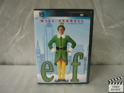 Elf (DVD, 2004, Widescreen Verison Only) Will Ferrell