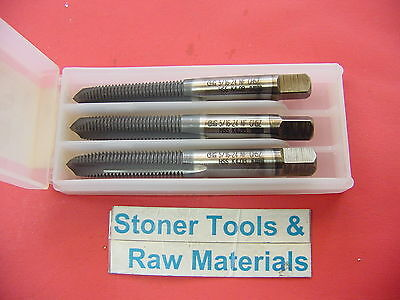 3 Pieces 5/16-24 NF 3 Flute H5 Plug Hand Tap OSG New Coated HSS S/P 18706850 USA