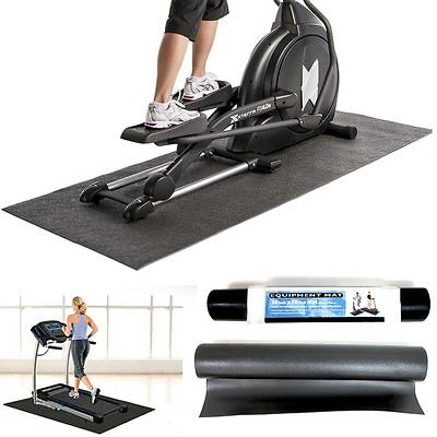 Gym Exercise Equipment Fitness Workout Treadmill Bike Weight Floor Mat Protect