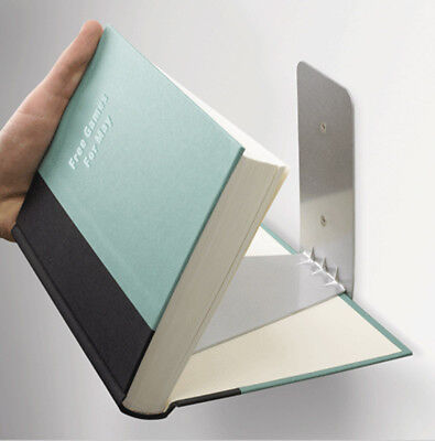 Conceal Wall Book Shelf Small Silver Invisible Floating Books Room Decor Umbra