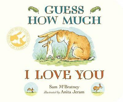 Guess How Much I Love You (Board book) - NEW (9781406358780)