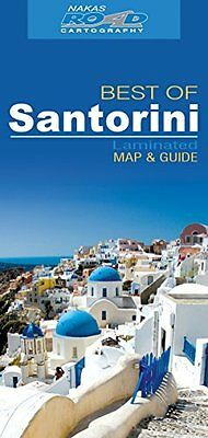 Santorini best of road ed. wp by Orama Editions (9789604489879)