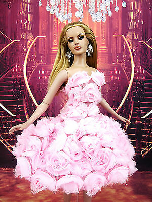 Rose Flower Evening Dress Outfit Gown Tyler Sydney Brenda Gene Alex Tonner Deva