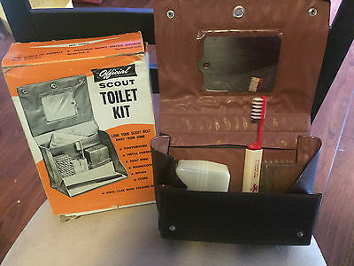 Official Scout Toilet Kit No. 1689 New Old Stock