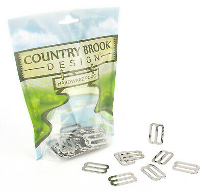 50 - Country Brook Design® 1 Inch Metal Triglide Slides