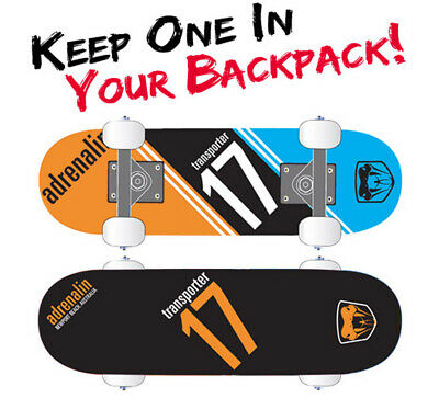 "Adrenalin Transporter 17"" Backpack Board - Light Weight & Compact"