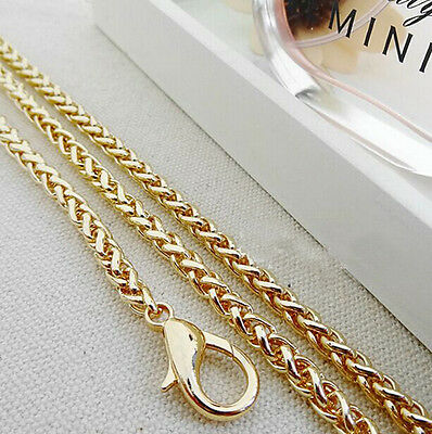 40-120CM Lantern Bags Chain For Handbag Shoulder Strap Bag Light Golden V22