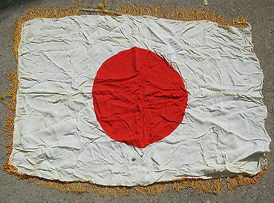 Wwii Japan Japanese Flag Banner Original Military  T*