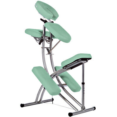 Foldable Aluminium Portable Massage Chair - only 8KG - GREEN
