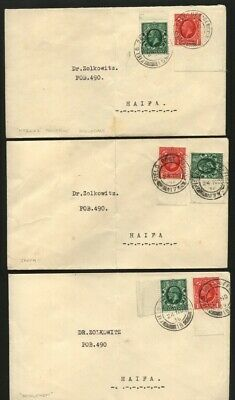 Palestine/british Forces Mail-Superb Group