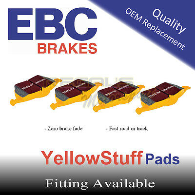 EBC YellowStuff Front Brake Pads for TOYOTA Starlet 1.3 (EP91) (ABS), (Option 2)