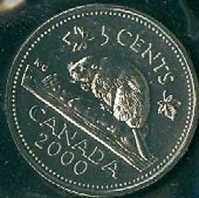 1968-PL Proof-Like Nickel 5 Five Cent /'68 Canada-Canadian BU Coin