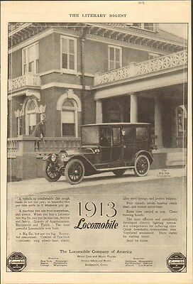 1913 Locomobile Limousine Bridgeport CT Auto Ad Gold Medal Flour mc2530