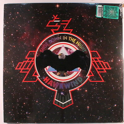 HAWKWIND: Shot Down In The Night LP Sealed (Euro, 2 LPs, 180 gram reissue)