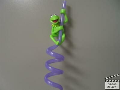 Kermit the Frog - Muppets sipper straw; Applause NEW