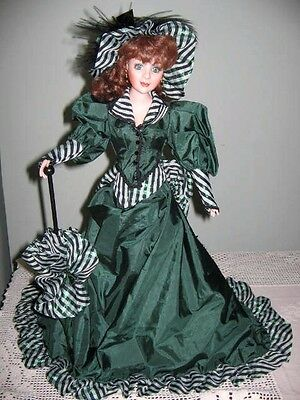 Colleen of County Cork Musical Doll Ltd Edition Handmade 52cm Tall Franklin Mint