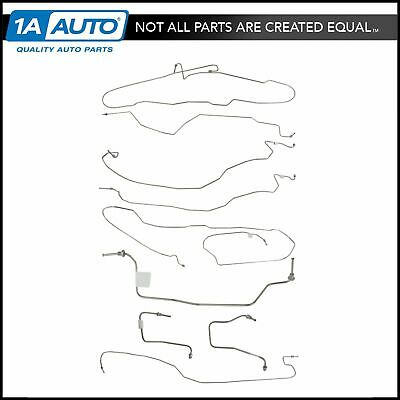 Stainless Steel Brake Line Kit for 03-07 Chevy Silverado GMC Sierra Ext Cab 4WD