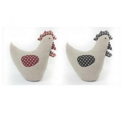 Chicken Design Fabric Door Stop Stopper in Choice of Colours