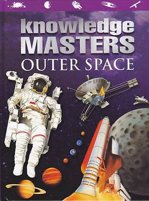 Knowledge Masters Outer Space Book full colour guide to Solar System & beyond