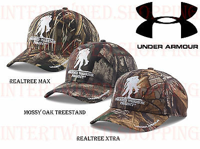 Under Armour 1264706 UA Hat Camo WWP Camo ALL Colors Hunting Adjustable Hats
