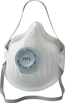 Moldex Classic Series FFP3 NR D Valved Mask Pack of 20 MOL2555