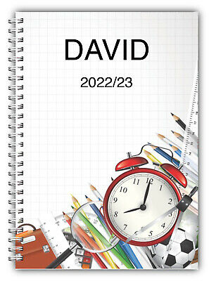 A5 Personalised 3 Monthly Planner 2018 Diary Journal Planner Fun Owl 50 Pages