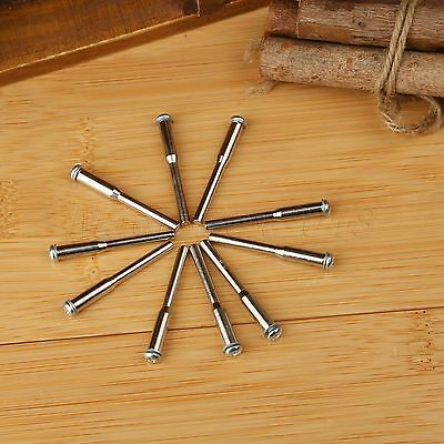 "Rotary Tool 10pcs 1/8"" Shank Mandrel Wheel Holder for Diamond Cut Off Disc Wheel"