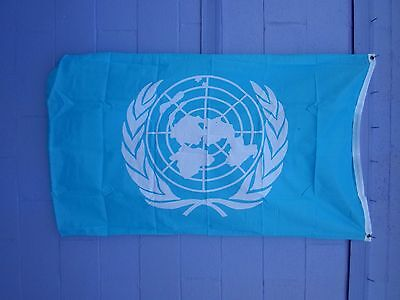 3X5 FLAG OF UNITED NATIONS NIP