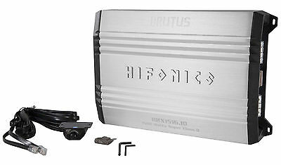 New Hifonics Brutus BRX1516.1D 1500 Watt RMS Class D Mono Amplifier Car Amp