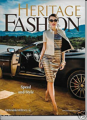 Vietnam Airlines 3-4/2015 Inflight Magazine Spring -140 Pages- Heritage Fashions