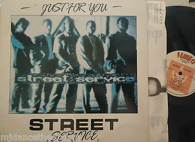 STREET SERVICE - Just For You ~ VINYL LP