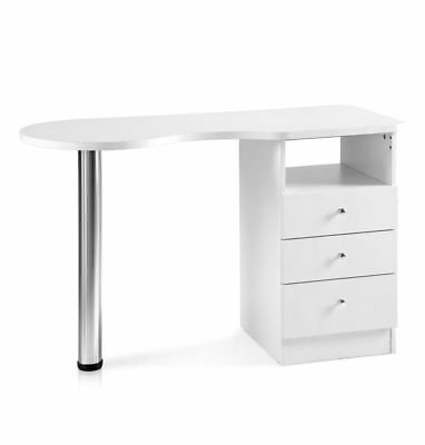 Urbanity venus nail station beauty salon manicure technician polish table desk