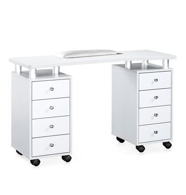 Urbanity astro nail station beauty salon manicure technician polish table desk